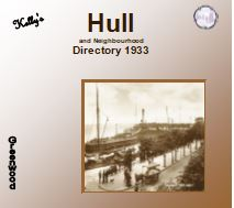 1933 Hull and Neighbourhood Kelly's Directory - CD